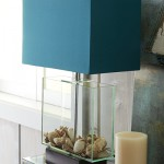 Teal Exhibit Table Lamp