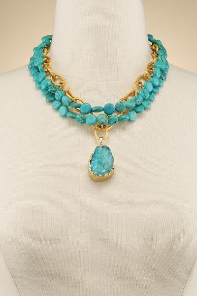 Arielle Agate Necklace
