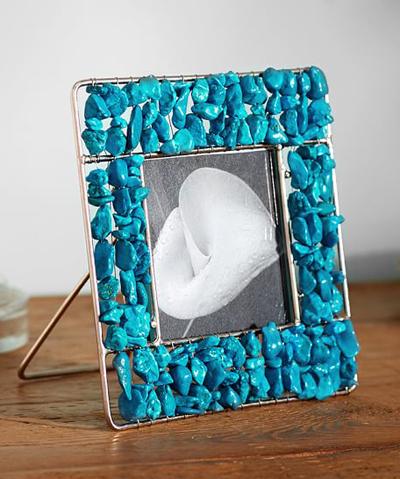 Turquoise Stone Frame