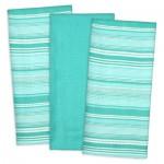 Aqua Urban Stripe Dishtowel Set