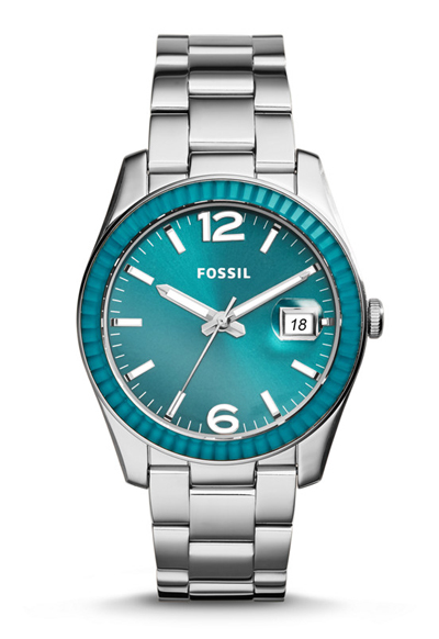 Fossil Perfect Boyfriend Three-Hand Date Stainless Steel Watch