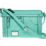 Turquoise Cash and Carry Mini Selena Crossbody Bag