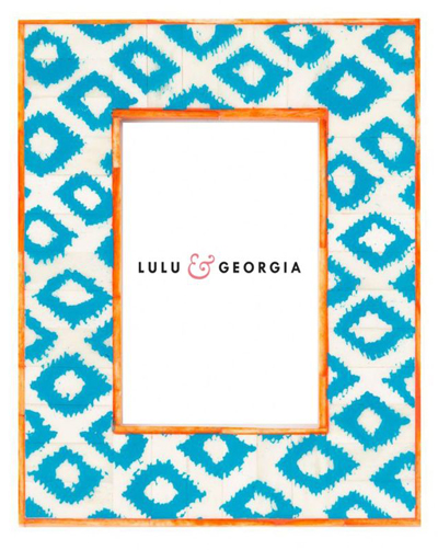 Turquoise Zia Picture Frame