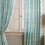 Aqua Wakefield Curtain