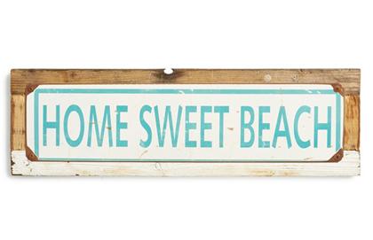 Home Sweet Beach Sign