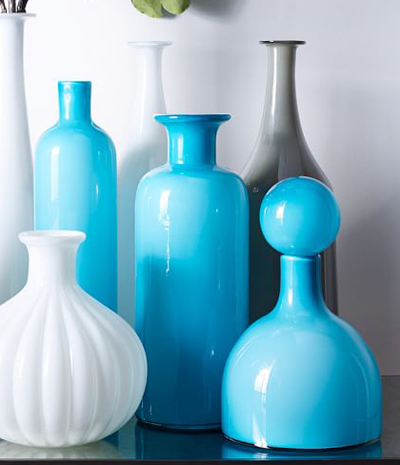 Mid Century Glass Vases Everything Turquoise