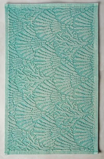 Turquoise Akvamarin Bathmat