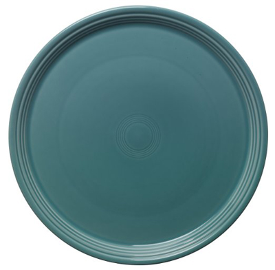 Turquoise Fiesta 15-Inch Pizza Tray
