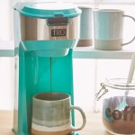 Turquoise Single Brew Coffee Maker