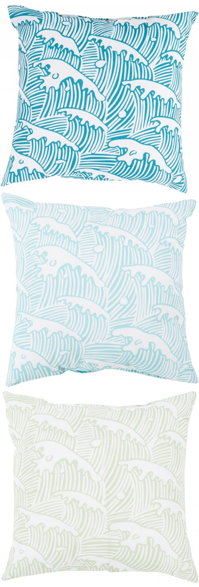Wind and Sea Indoor/Outdoor Pillow