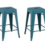 Carlisle Metal Teal Counter Stools