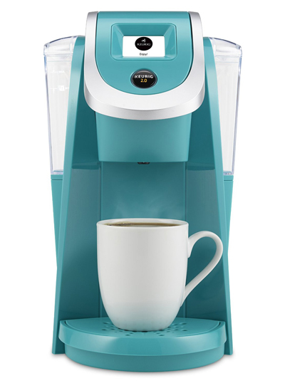 Keurig 2.0 Brewing System in Turquoise