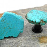 Turquoise Cabinet Knobs