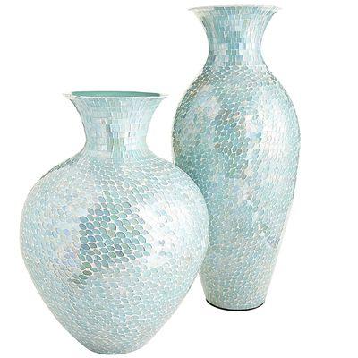 Top Aqua Mosaic Vases | Everything Turquoise LG23