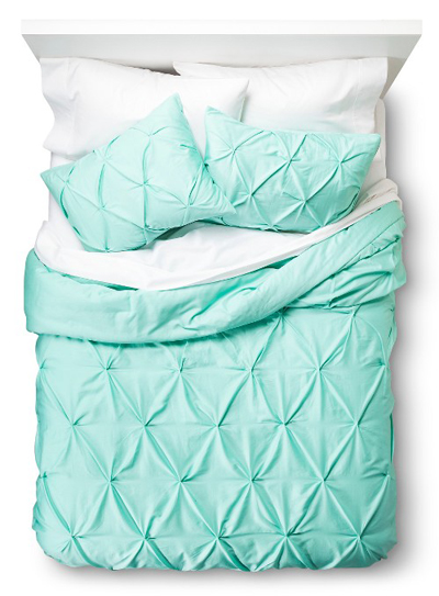Pinched Pleat Comforter Set