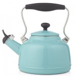 Chantal Vintage Aqua Steel Enamel Tea Kettle