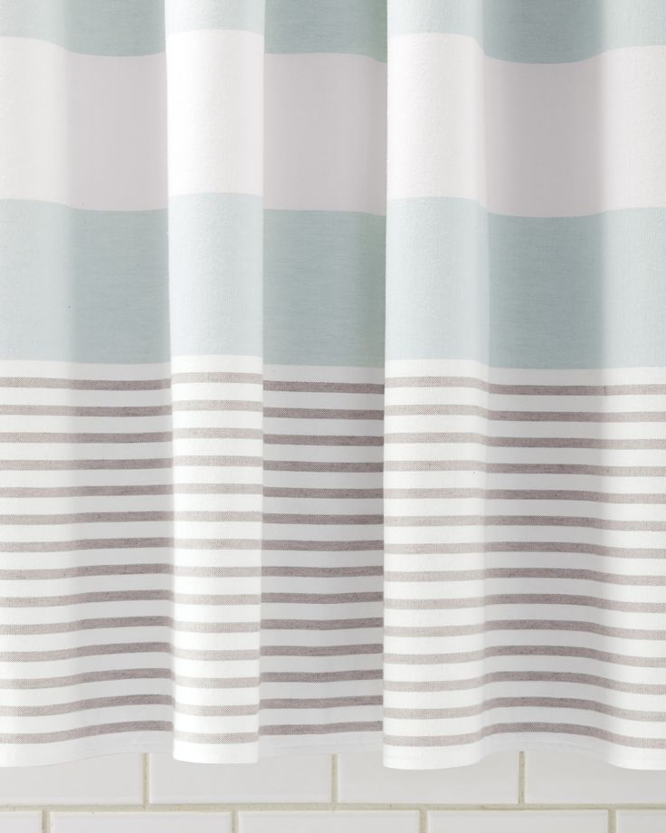 grey and aqua shower curtain. Aqua Fouta Shower Curtain  Everything Turquoise