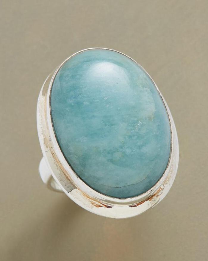Aqua Horizon Ring
