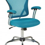 Ave Six Juliana Blue Mesh Task Chair