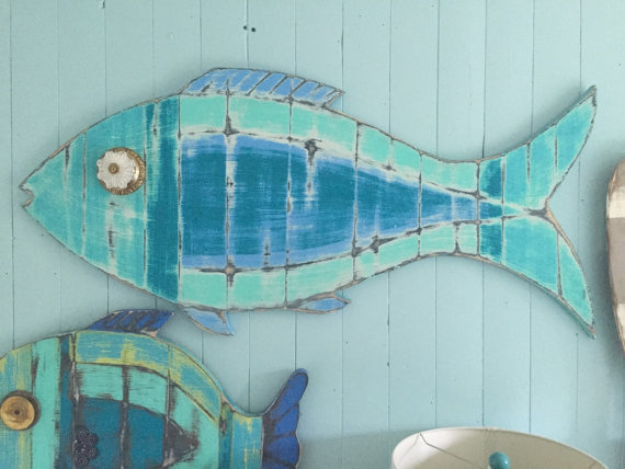 Fish Wall Art Sign