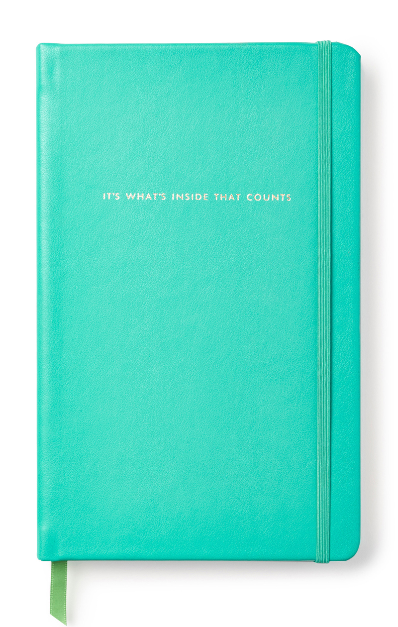 Kate Spade Take Note It's What's Inside Large Notebook