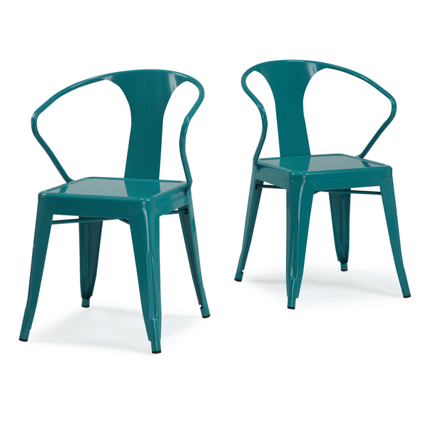 peacock tabouret stacking chair set everything turquoise