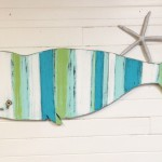 Striped Whale Sign