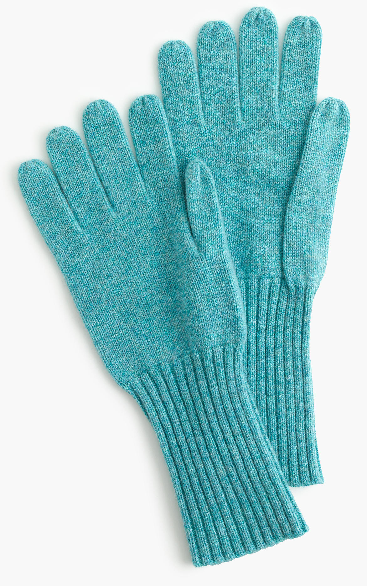 Turquoise Cashmere Gloves