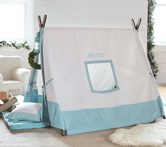 Aqua A-Frame Tent