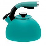 Capri Turquoise Circulon Morning Bird Teakettle