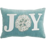 Coastal Joy Sand Dollar Lumbar Pillow