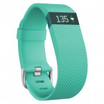 Teal FitBit Charge HR Wristband