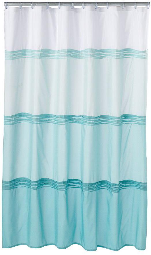 Oceanside Pintuck Fabric Shower Curtain