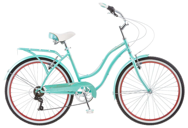 Schwinn Blue Perla 7 Speed Cruiser Bike