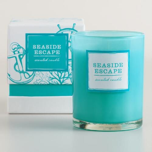 Seaside Escape Boxed Tumbler Candle