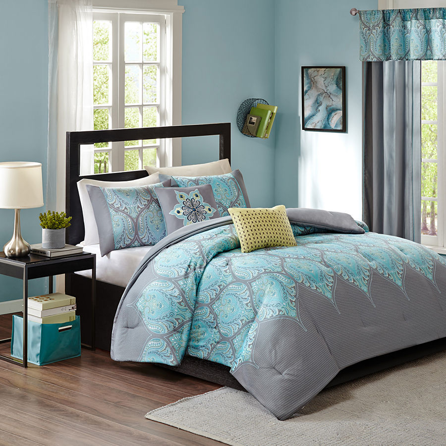 Aries Comforter Set. Aries Comforter Set   Everything Turquoise