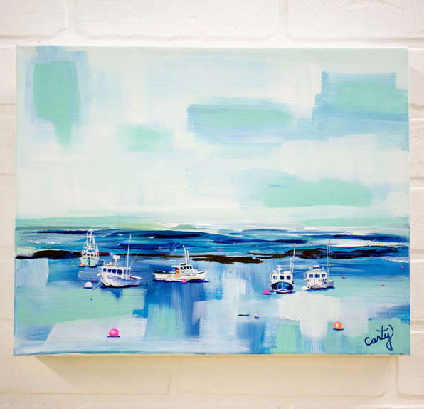Blue Harbor by Megan Carty
