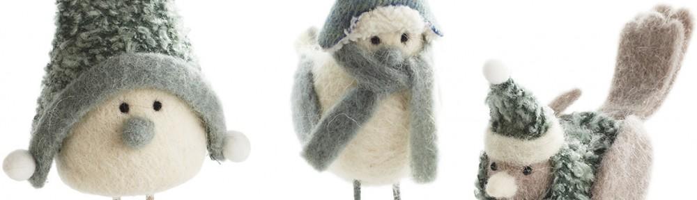 Bundled Up Snowbirds