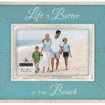 Life is Better at the Beach Turquoise Picture Frame