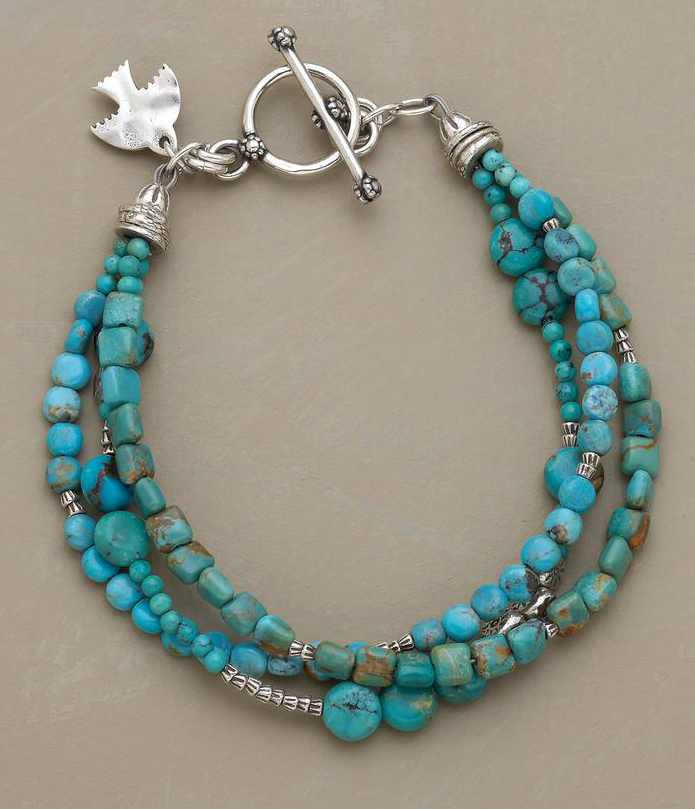 Medley of Turquoise Bracelet
