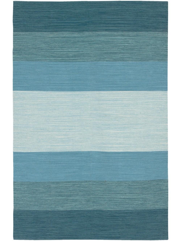 blue stripe rug  roselawnlutheran - sea blue panoptic stripe rug