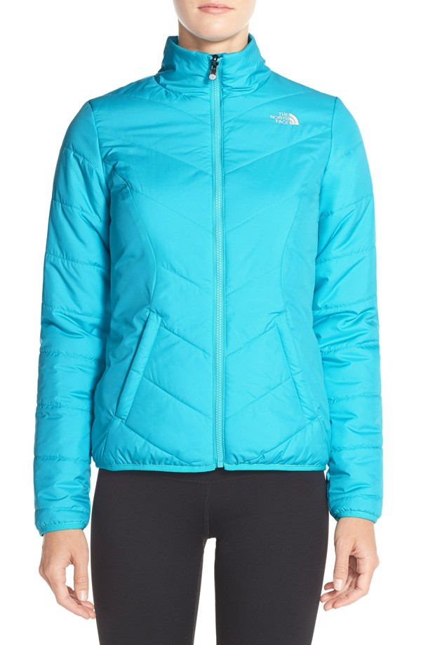 The North Face Turquoise Rika Jacket