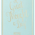 A Great Thought a Day Notepad