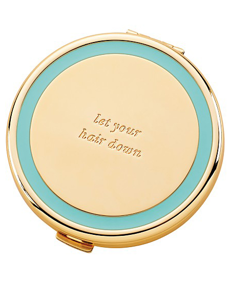 Kate Spade Turquoise Holly Drive Compact
