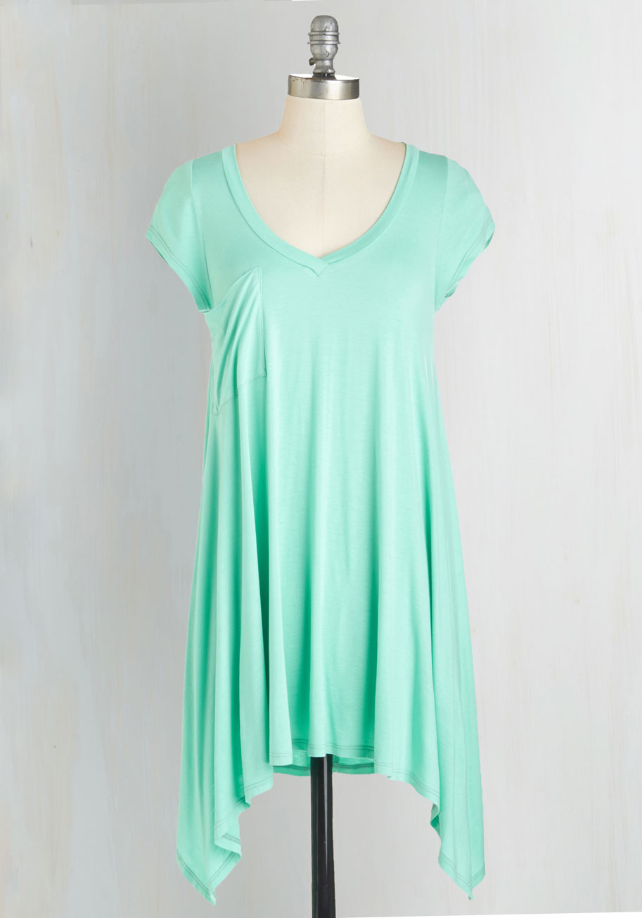 Casual Mint Tunic