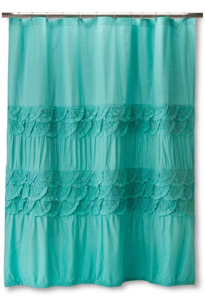 Boho Boutique Textured Shower Curtain