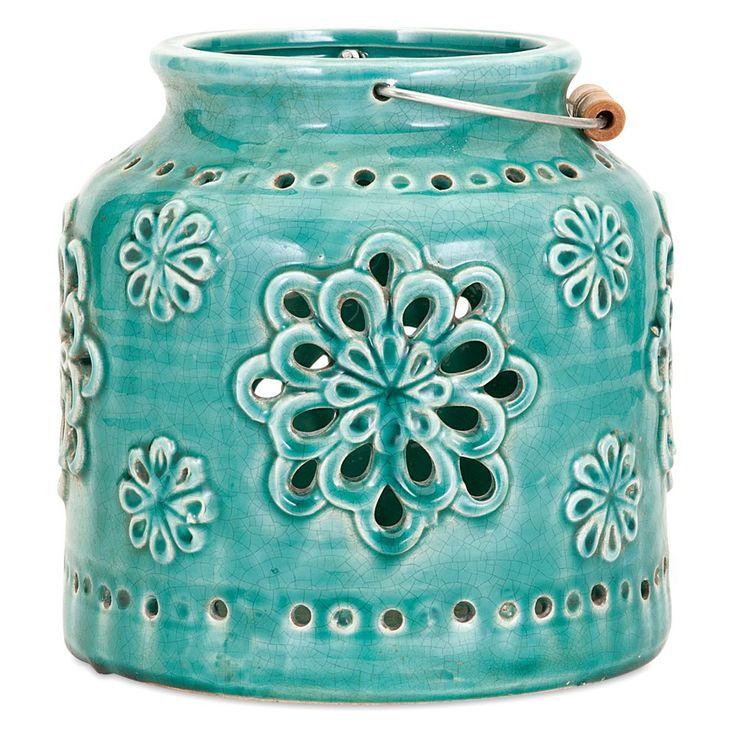 Turquoise Cordoba Lantern