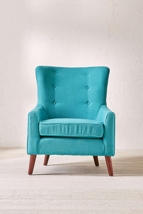 Turquoise Frankie Arm Chair