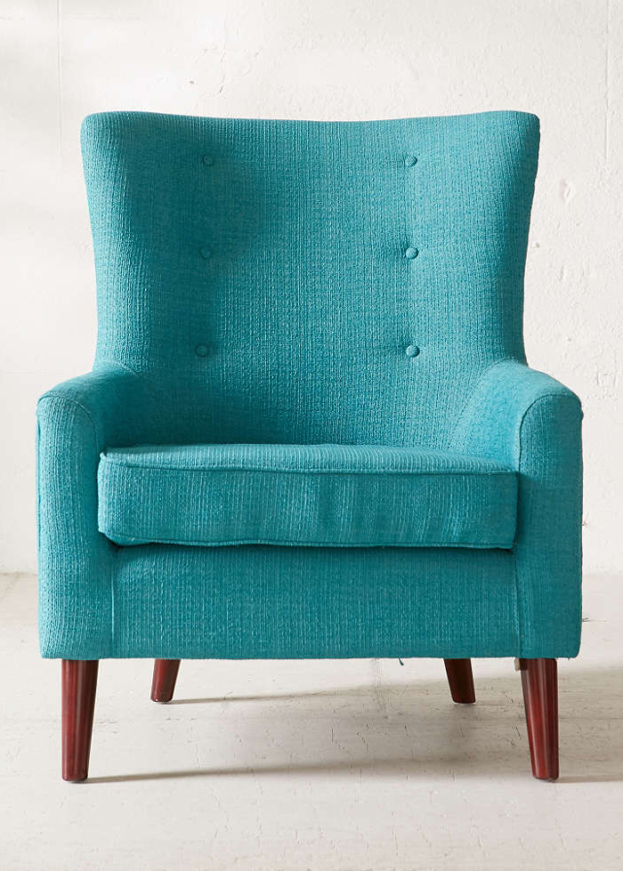 Turquoise Frankie Chair Everything Turquoise