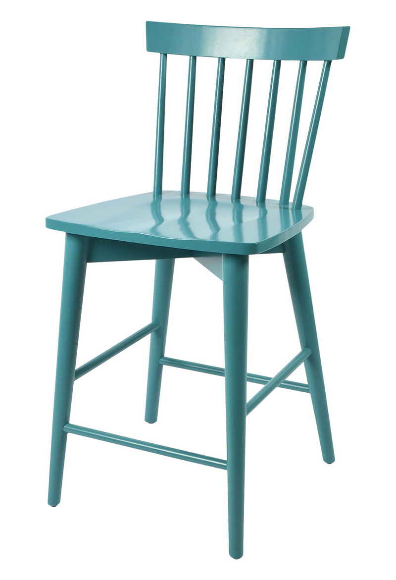 Aqua Windsor Counter Stool
